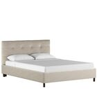 Melaina Upholstered Platform Bed Size: Queen, Color: Premier Platinum