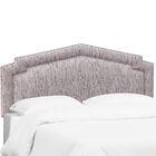 Overturf Upholstered Panel Headboard Size: King