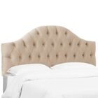 Dionisio Diamond Tufted Upholstered Panel Headboard Size: California King, Color: Pearl
