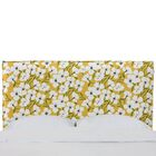 Mac French Seam Slipcover California King Upholstered Panel Headboard Size: Full