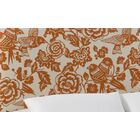 Slip Cover Canary Upholstered Panel Headboard Size: California King, Color: Canary Tangerine
