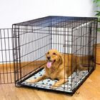 Ultra-Thin Paw Print Kennel Dog Mat Size: Medium (36