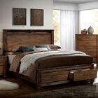 Zena Storage Platform Bed