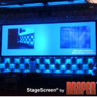 StageScreen Black Portable Projection Screen Size/Format: 551
