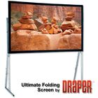 Ultimate Folding Projection Screen Surface Finish: CineFlex, Size/Format: 120