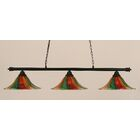 Mendez 3-Light Billiard Light Size: 11.25