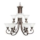 Babin 9-Light Shaded Chandelier