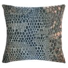 Snakeskin Throw Pillow Color: Gunmetal