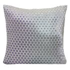 Dots Velvet Pillow Size: 22'' H x 22'' W x 3'' D, Color: Cornflower