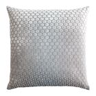 Dots Velvet Pillow Color: Robin's Egg, Size: 18'' H x 18'' W x 4'' D