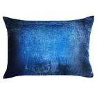 Ombre Velvet Lumbar Pillow Color: Midnight