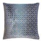 Metallic Petals Velvet Pillow Color: Dusk