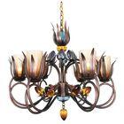 Mcclean 6-Light Chandelier Color: Brown