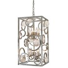 Krieger 8-Light Square/Rectangle Chandelier Finish: Silver