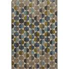 Metropolitan Gray/Blue Area Rug Rug Size: Rectangle 5'3