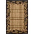 Destinations Pine Cone Plaid Ashen Area Rug Rug Size: Rectangle 9'6