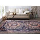 Suzani Tapestry Indigo Area Rug Rug Size: Rectangle 8' x 10'