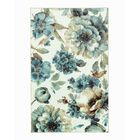 Karnak Floral Green/Blue Area Rug Rug Size: Rectangle 5' x 8'