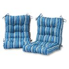 Indoor/Outdoor Lounge Chair Cushion Fabric: Sapphire