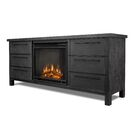 Parsons Electric Fireplace Finish: Antique Gray