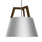 Imber 3-Light Cone Pendant Finish: Oiled Walnut/Brushed Aluminum
