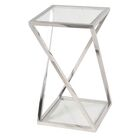 Zielke End Table Color: Stainless Steel