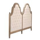 Upholstered Panel Headboard Size: Queen