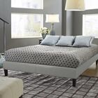 Branson Upholstered Platform Bed Color: Gray, Size: Queen