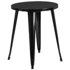 Pelzer Bistro Table Finish: Red, Table Size: 30