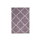 Kate Hand-Tufted Lilac Area Rug Rug Size: 8' x 10'