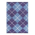 Christofferso Hand-Woven Purple Area Rug Rug Size: 5' X 8'