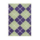 Shoals Hand Tufted Wool Purple Area Rug Rug Size: 8' x 10'