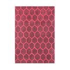 Kerney Hand Tufted Wool Red Area Rug