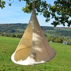 Tyler Camping Hammock Color: Natural White, Size: 72