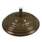 Sanders Fiberglass Free Standing Umbrella Base Weight: 175, Color: Champagne Bronze
