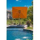 Aurora 9' Square Cantilever Umbrella Color: Orange