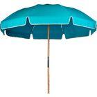 7.5' Beach Umbrella Fabric: Turquoise Acrylic