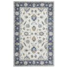Gillison Hand-Tufted Blue/Beige Area Rug Rug Size: Rectangle 10' x 14'