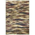 Phillip Gold/Brown Area Rug Rug Size: Rectangle 5'2