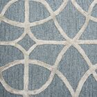 Beryl Hand Tufted Wool Denim Area Rug Rug Size: Rectangle 9' x 12'