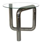 Forrest End Table Base Color: Stainless Steel