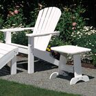 Adirondack Side Table Color: Black