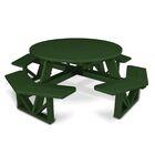 Park Picnic Table Finish: Hunter Green