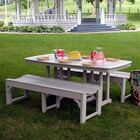 Traditional 3 Piece Dining Set