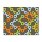 Links Multicolor Rug Rug Size: Rectangle 4' x 5'