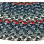 Pioneer Valley II Carribean Blue Multi Elongated Octagon Rug Rug Size: Elongated Octagon 8' x 10'