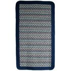 Pioneer Valley II Meadowland Blue with Dark Blue Solids Multi Rectangle Rug Rug Size: 8' x 10'