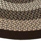 Green Mountain Fudge Brown Stripes AreaRug Rug Size: Runner 2'3