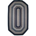 Green Mountain Lake Champlain Blue Area Rug Rug Size: Elongated Octagon 4' x 6'