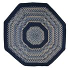 Pioneer Valley II Williamsburg with Dark Blue Solids Multi Octagon Rug Rug Size: Octagon 10'